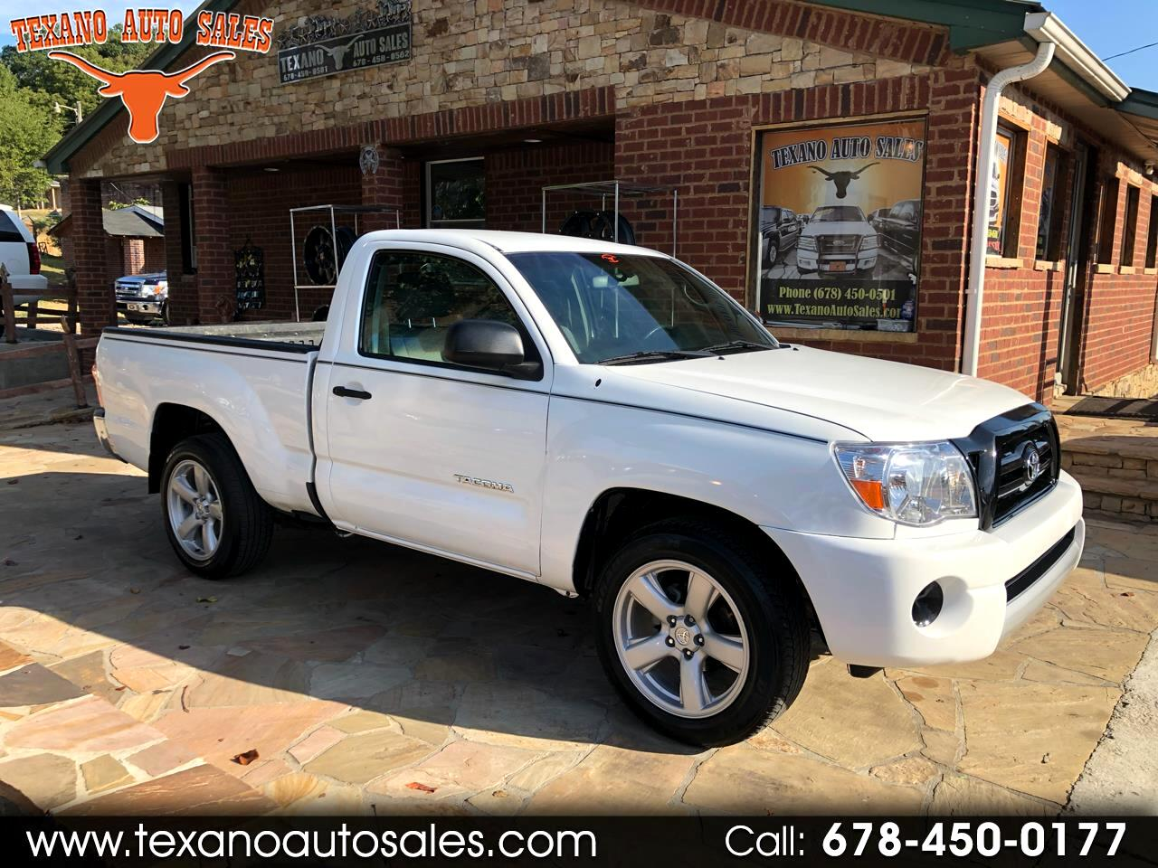 "Toyota Tacoma Reg 109"" Manual (Natl) 2006"