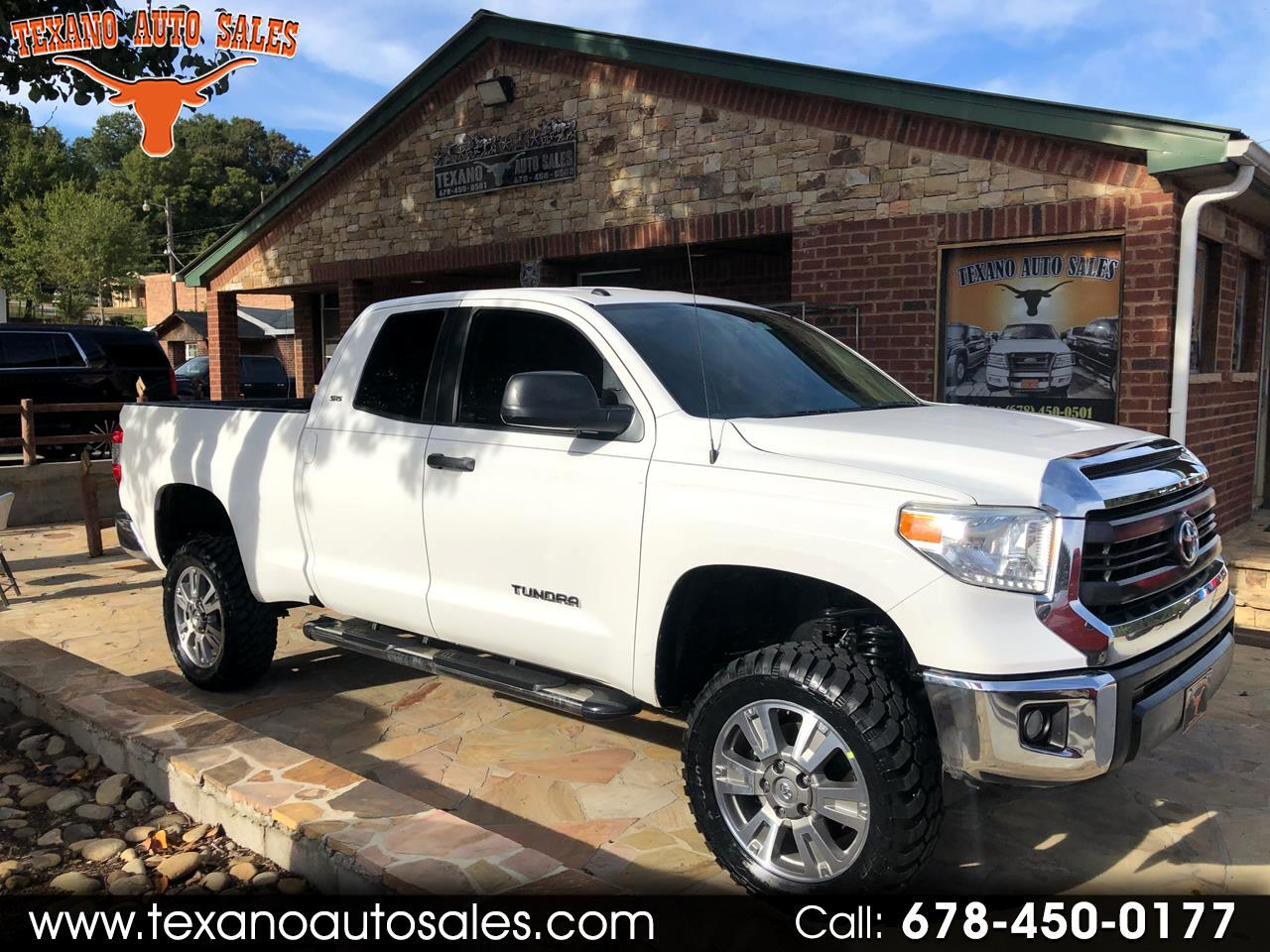 2015 Toyota Tundra 2WD Truck Double Cab 4.6L V8 6-Spd AT SR5 (Natl)