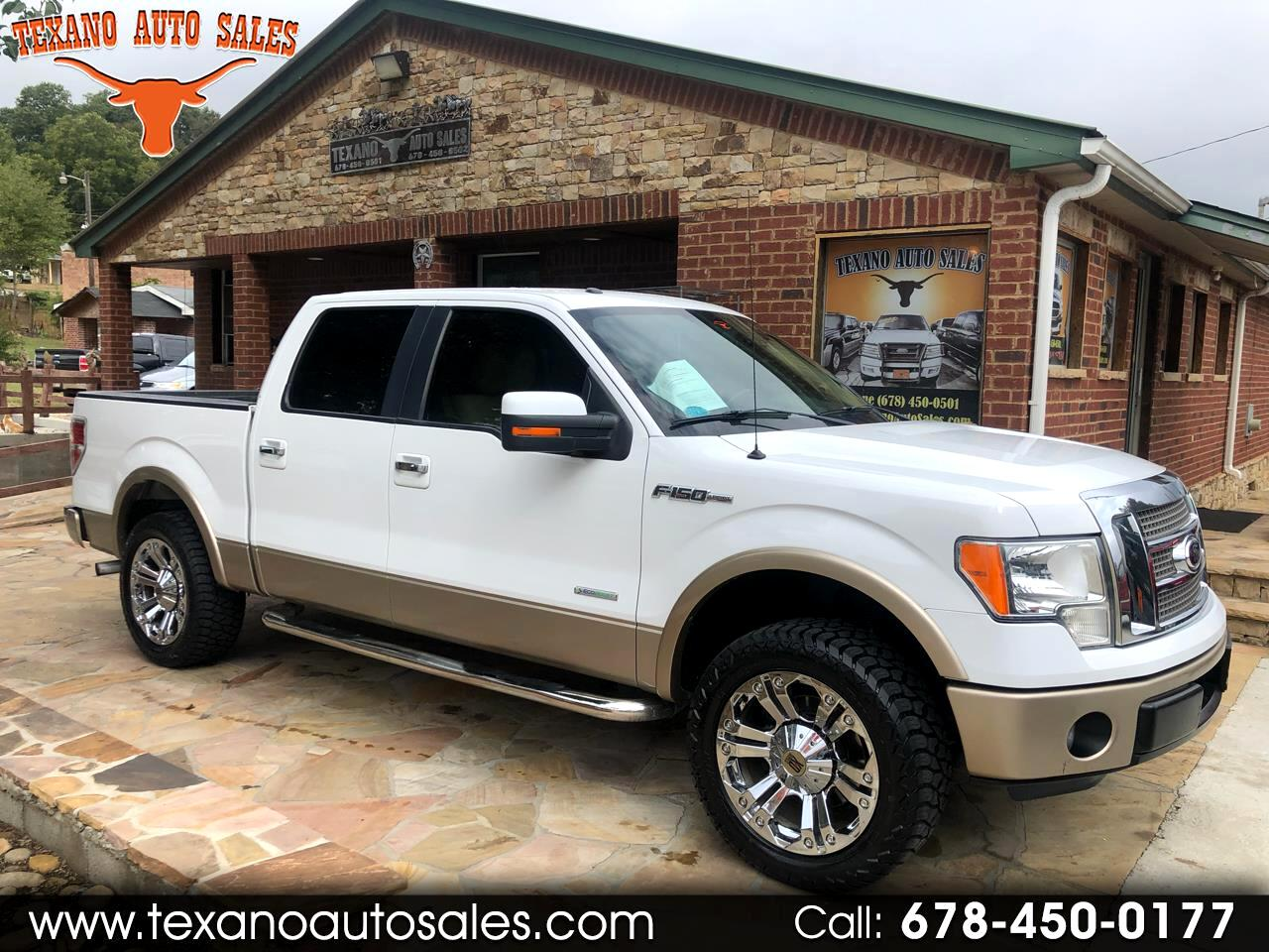 "2012 Ford F-150 2WD Supercab 133"" Lariat"