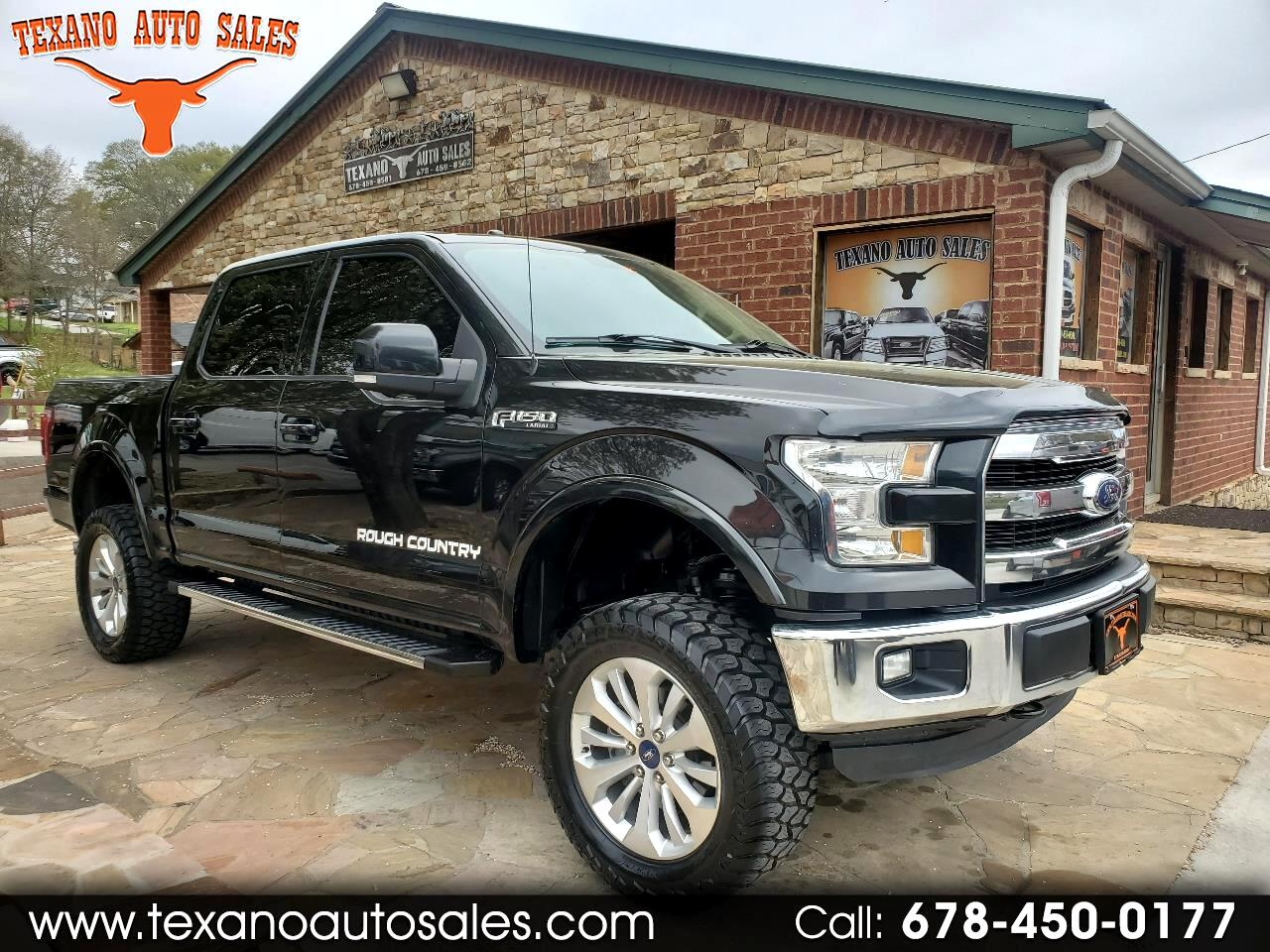 "Ford F-150 SuperCrew 4WD SuperCrew 145"" Lariat 2015"