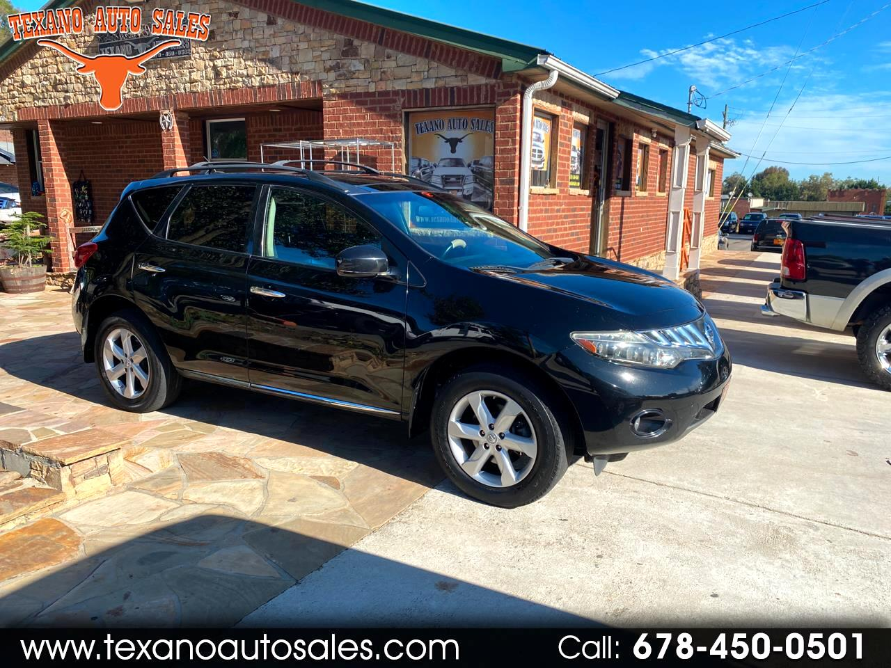 Nissan Murano 2WD 4dr SL 2009