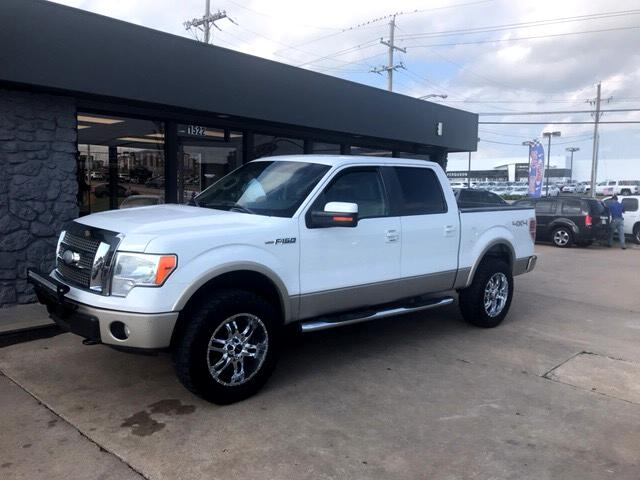 "2009 Ford F-150 4WD SuperCrew 139"" Lariat"