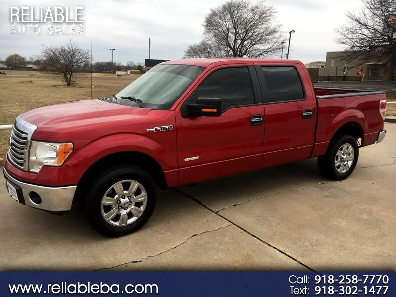 "2012 Ford F-150 2WD SuperCrew 139"" XLT"