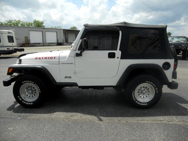 2002 Jeep Wrangler 2dr Sport