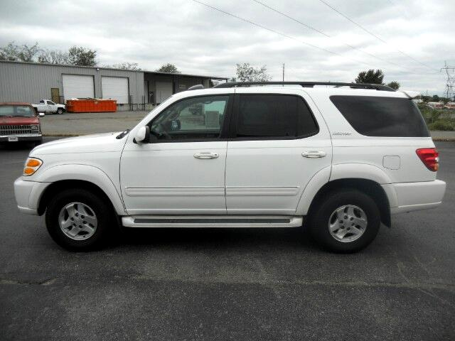 2002 Toyota Sequoia 4dr Limited (Natl)