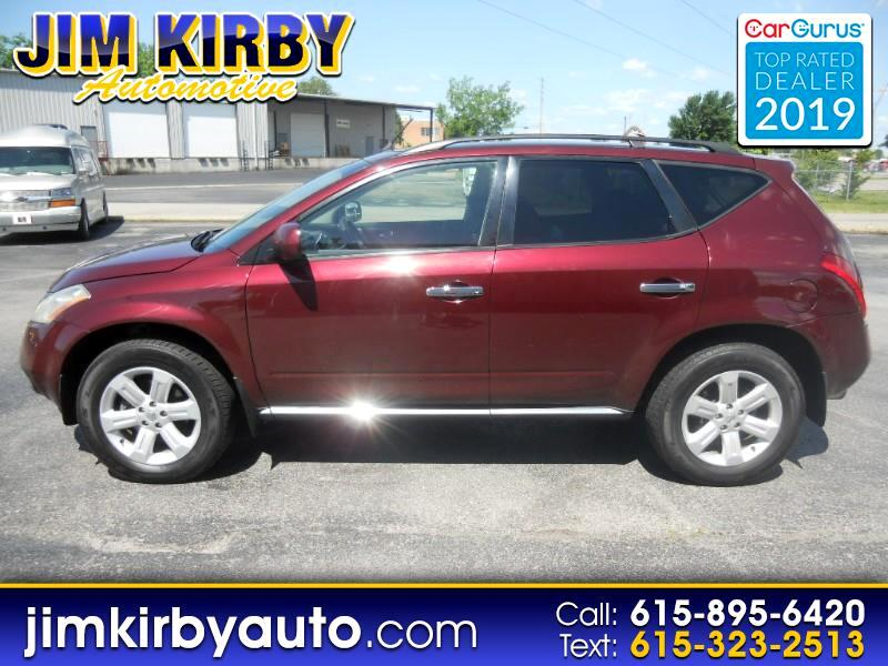2006 Nissan Murano 4dr SL V6 2WD