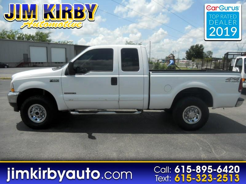 "2002 Ford Super Duty F-250 Supercab 142"" XLT 4WD"