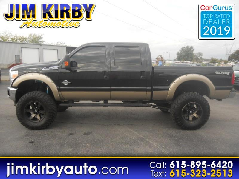 "Ford F-250 Crew Cab 4dr 152.2"" WB 4WD 2014"
