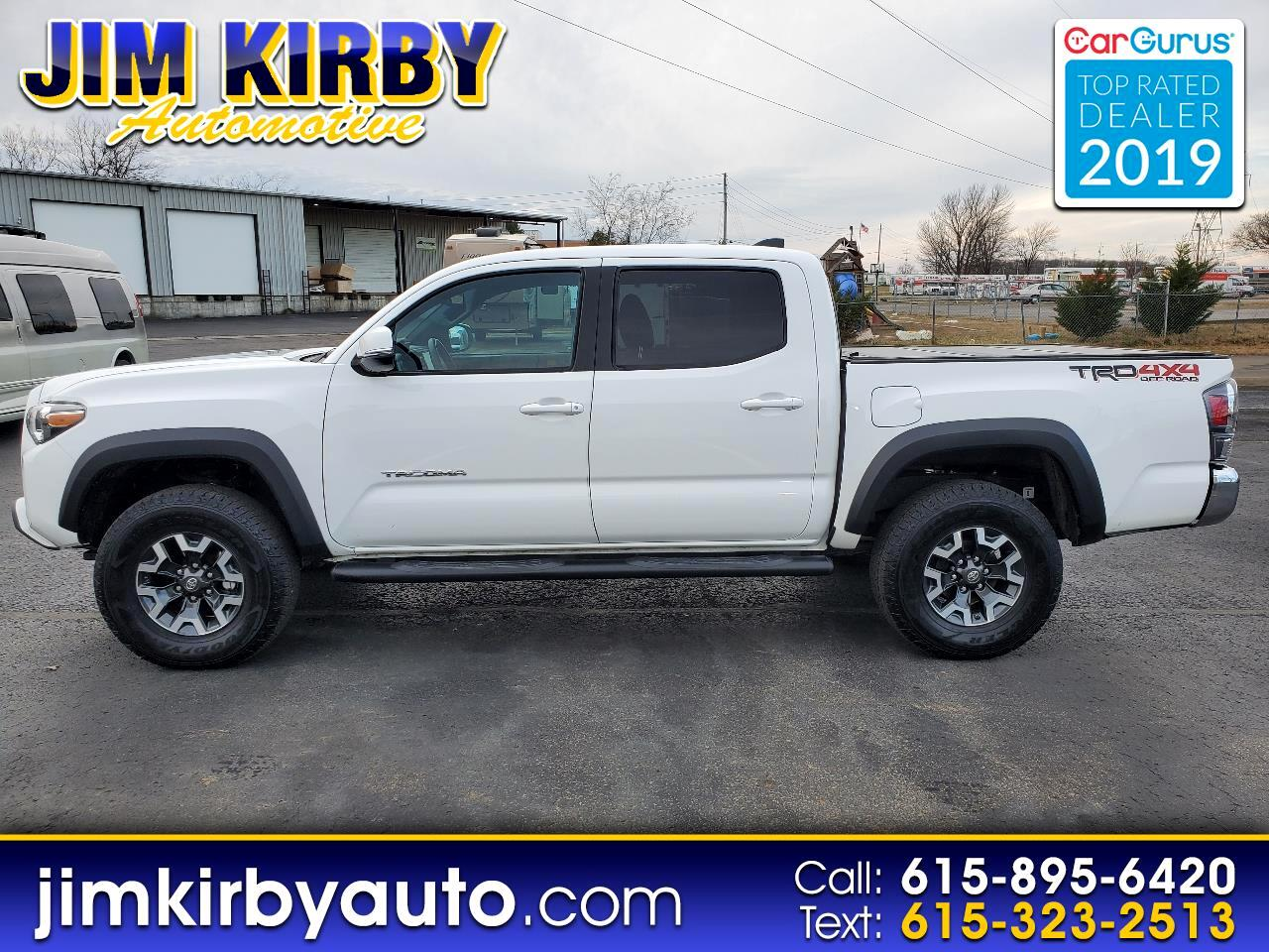 Toyota Tacoma SR5 Double Cab Long Bed V6 6AT 4WD 2020