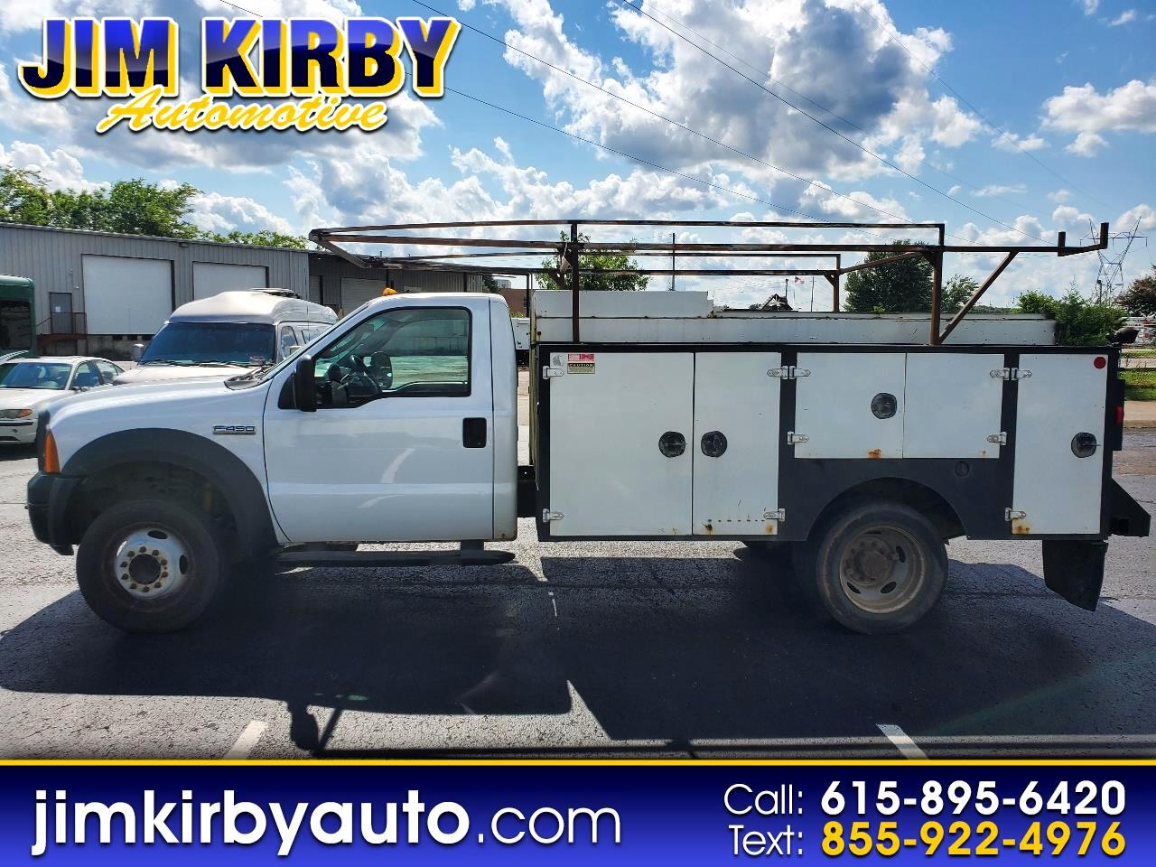 Ford F-450 SD Chassis Cab 2WD 2007