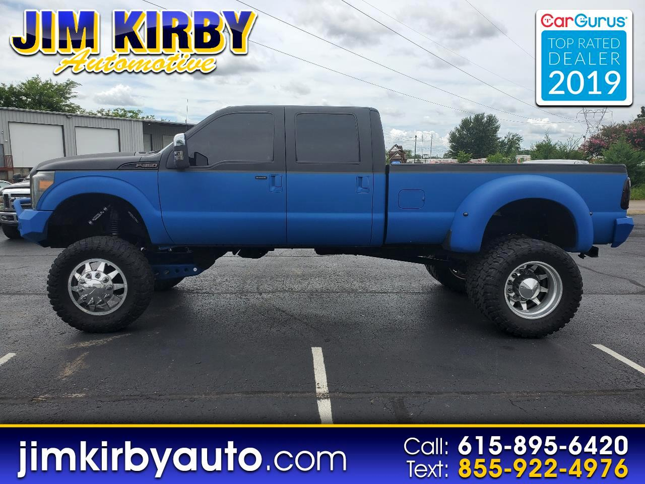 Ford F-350 SD King Ranch Crew Cab Long Bed DRW 4WD 2012