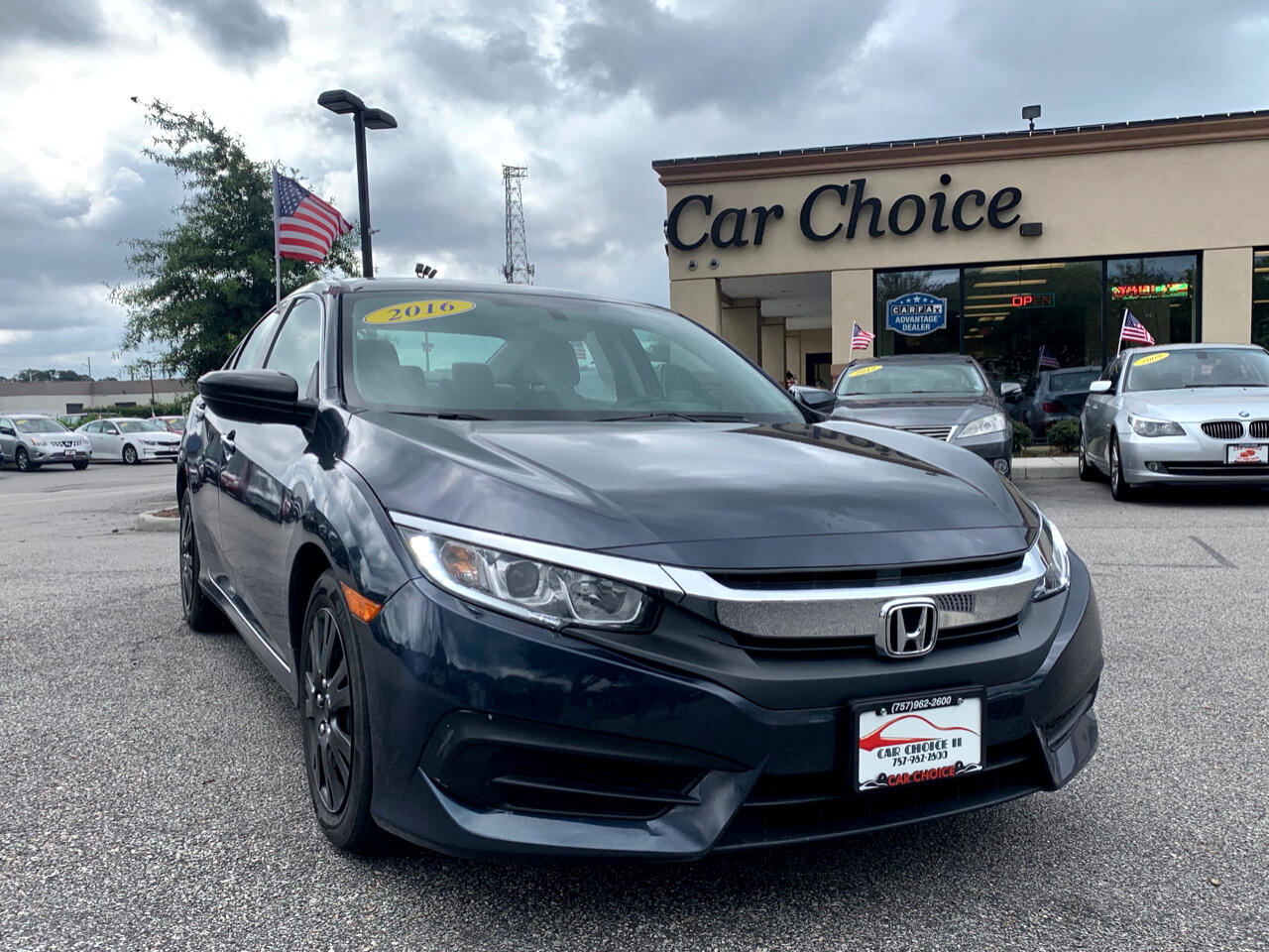 2016 Honda Civic LX Sedan CVT