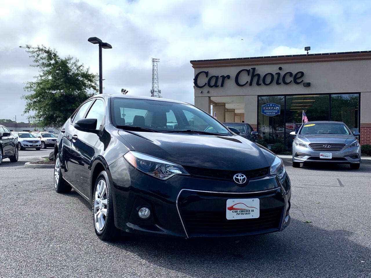 2016 Toyota Corolla S CVT