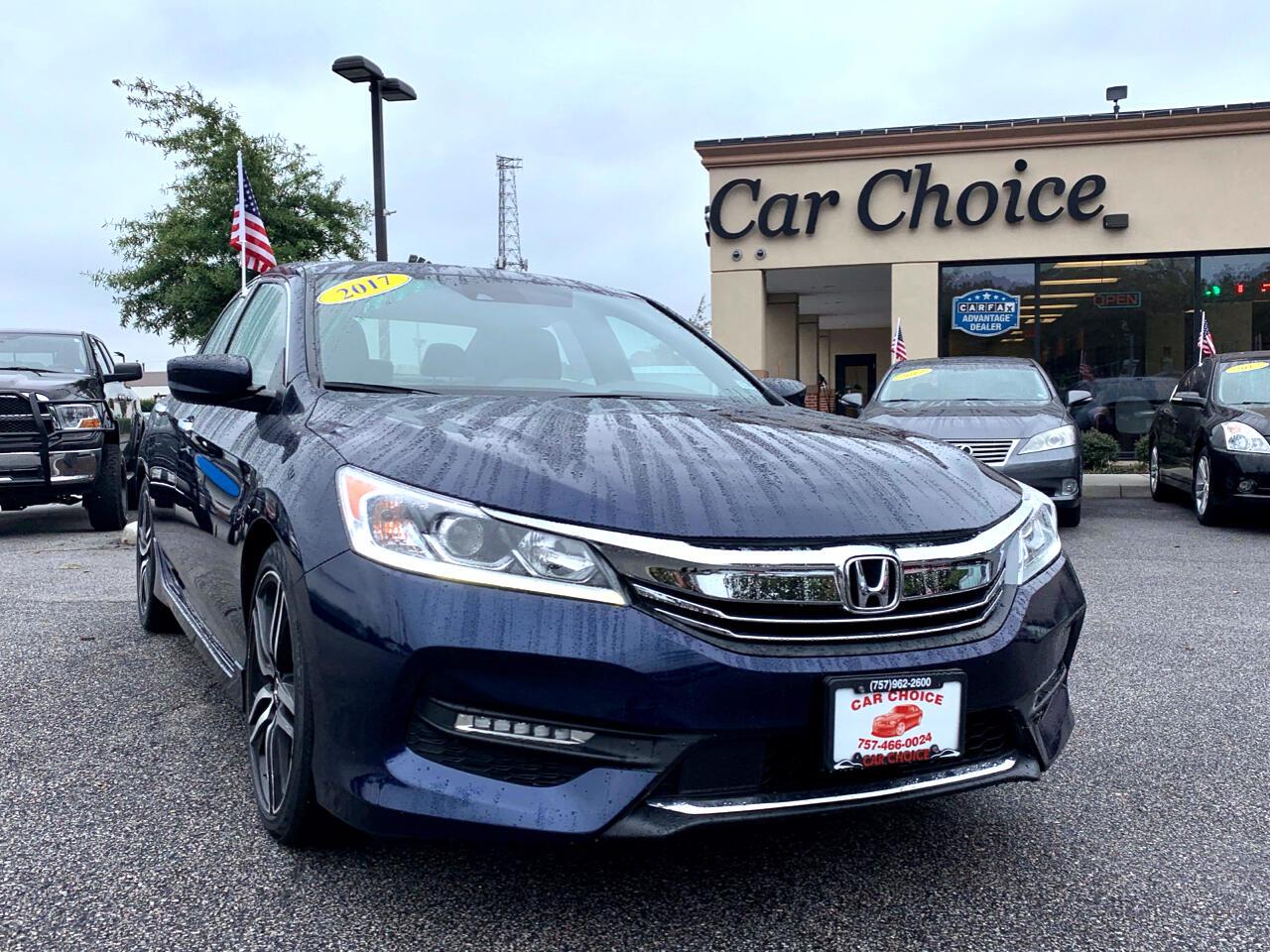 2017 Honda Accord Sport w/Honda Sensing CVT