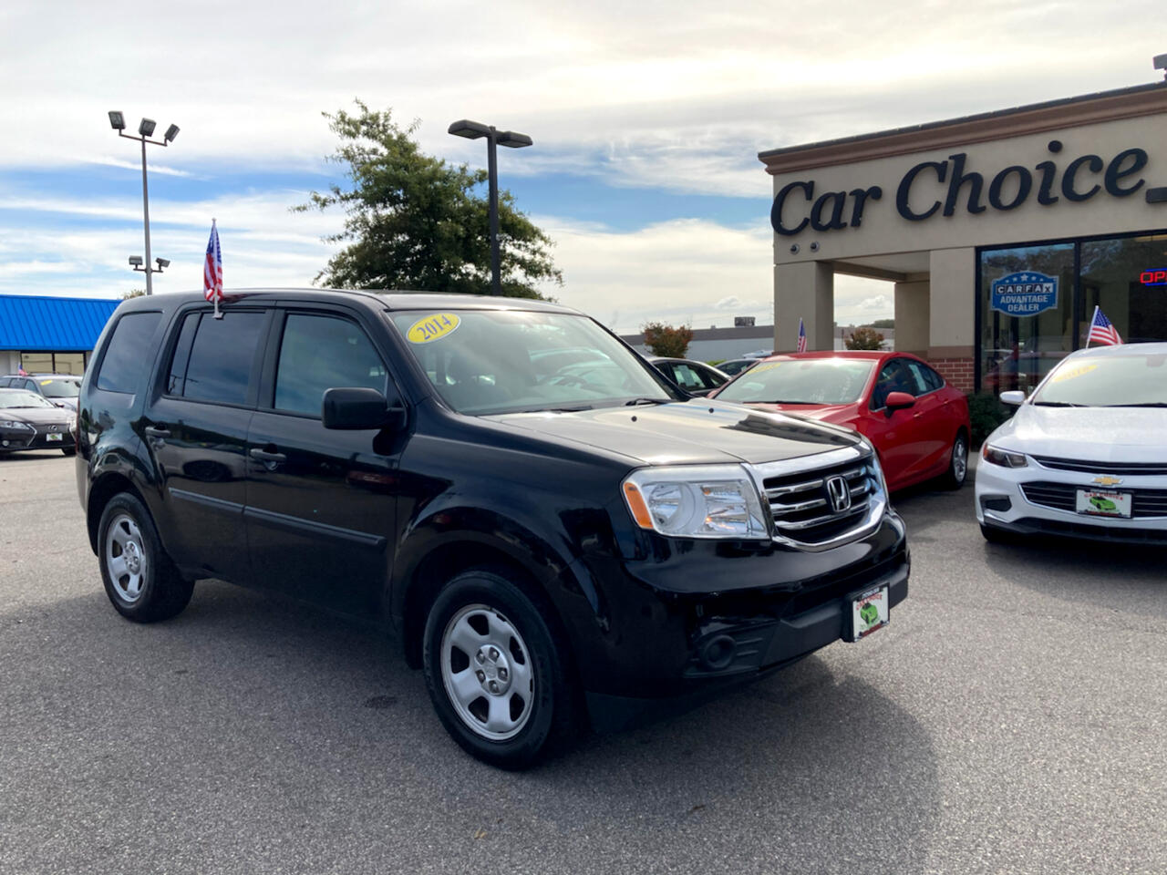 Honda Pilot LX 4WD 5-Spd AT 2014