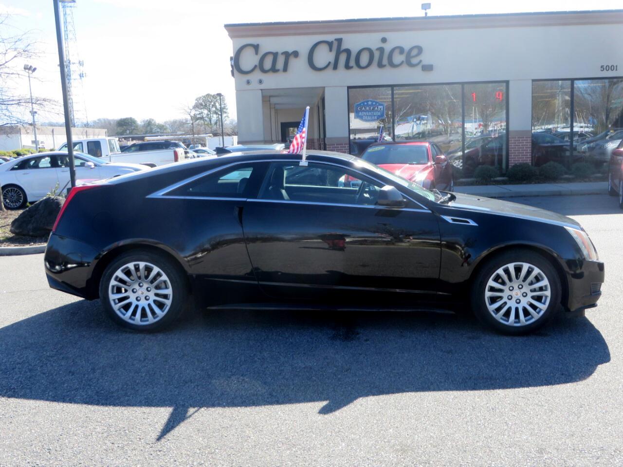 Cadillac CTS Base Coupe AWD 2011