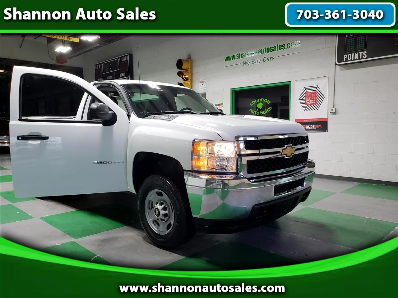 2014 Chevrolet Silverado 2500HD Work Truck Long Box 2WD