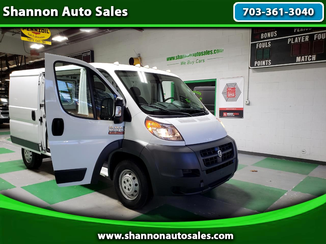 2014 RAM Promaster 1500 Low Roof Tradesman 136-in. WB