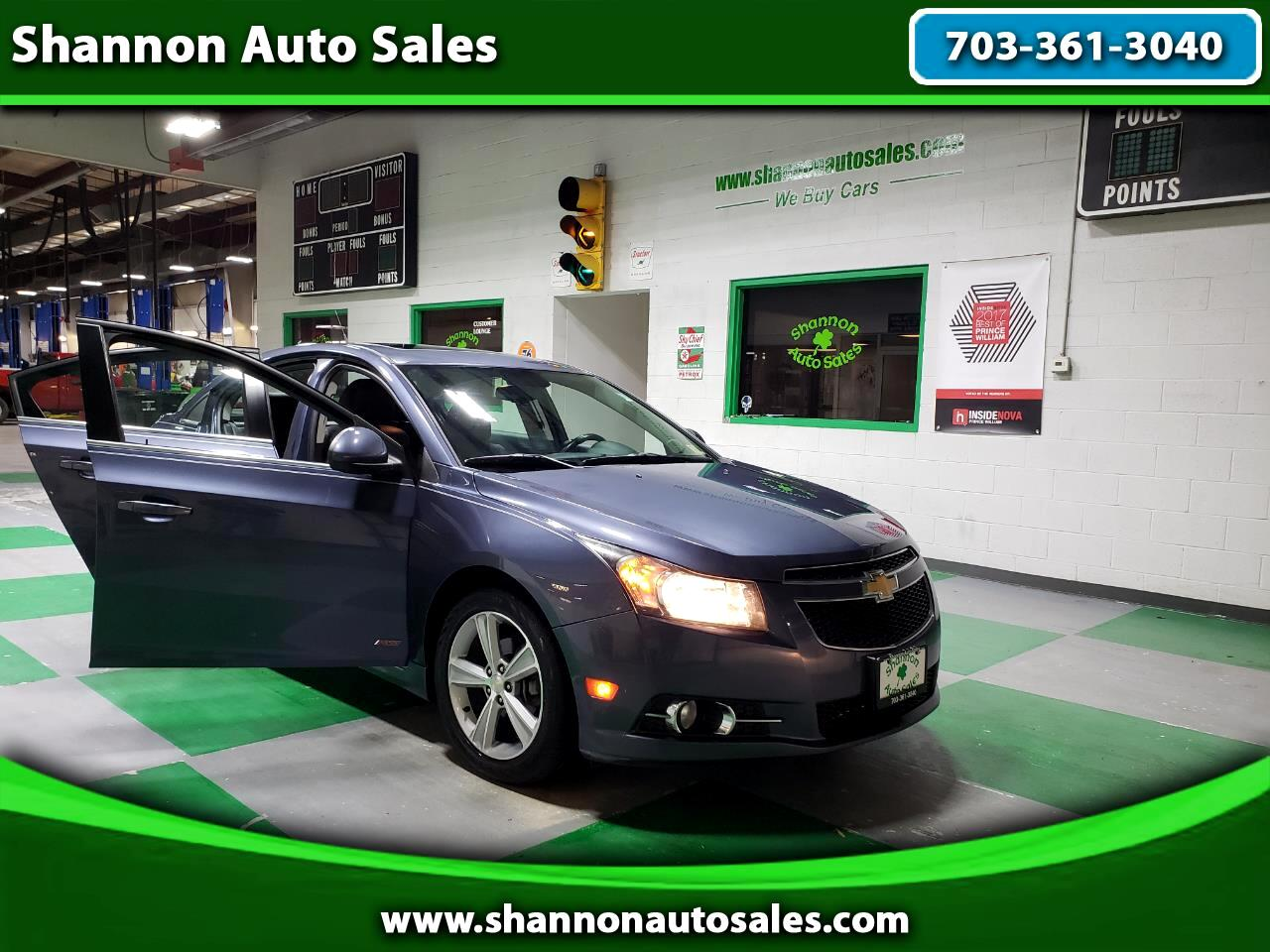 2013 Chevrolet Cruze 4dr Sdn LT/RS Edition