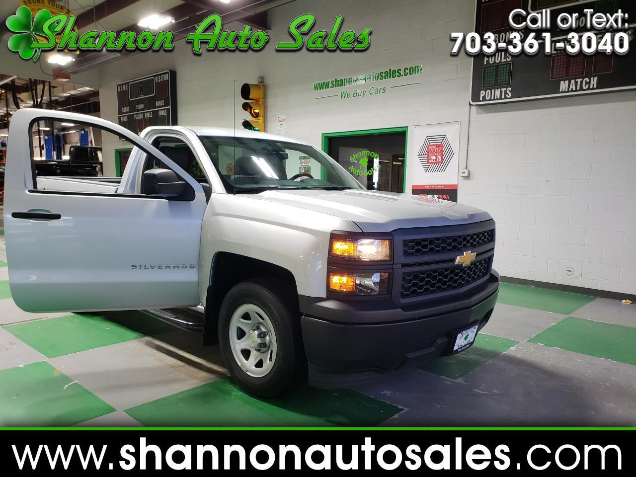 2014 Chevrolet Silverado 1500 Work Truck 2WT Regular Cab 2WD