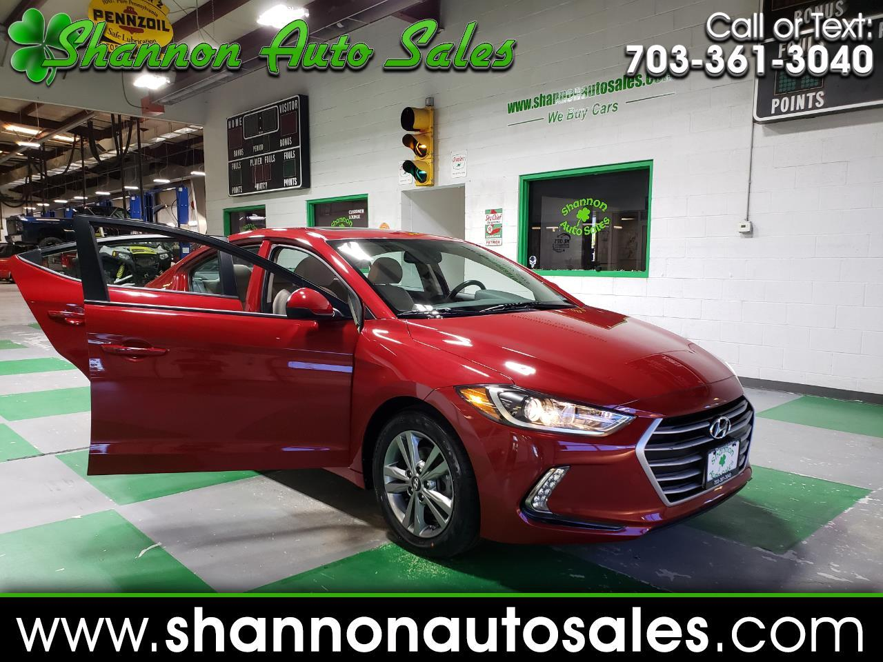 2017 Hyundai Elantra 4dr Sdn Auto Value Edition (Alabama Plant)