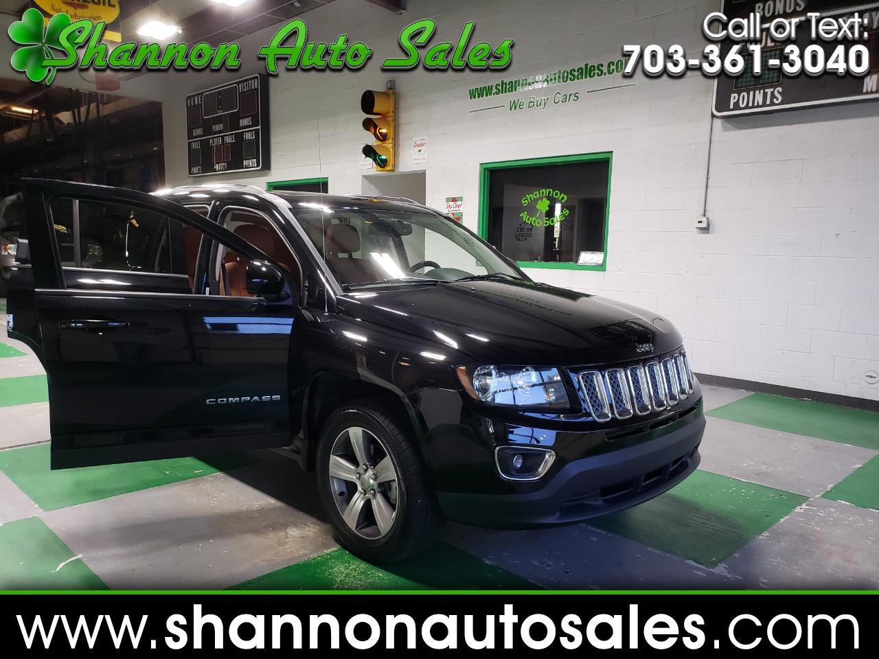 2017 Jeep Compass 4WD 4dr High Altitude Edition