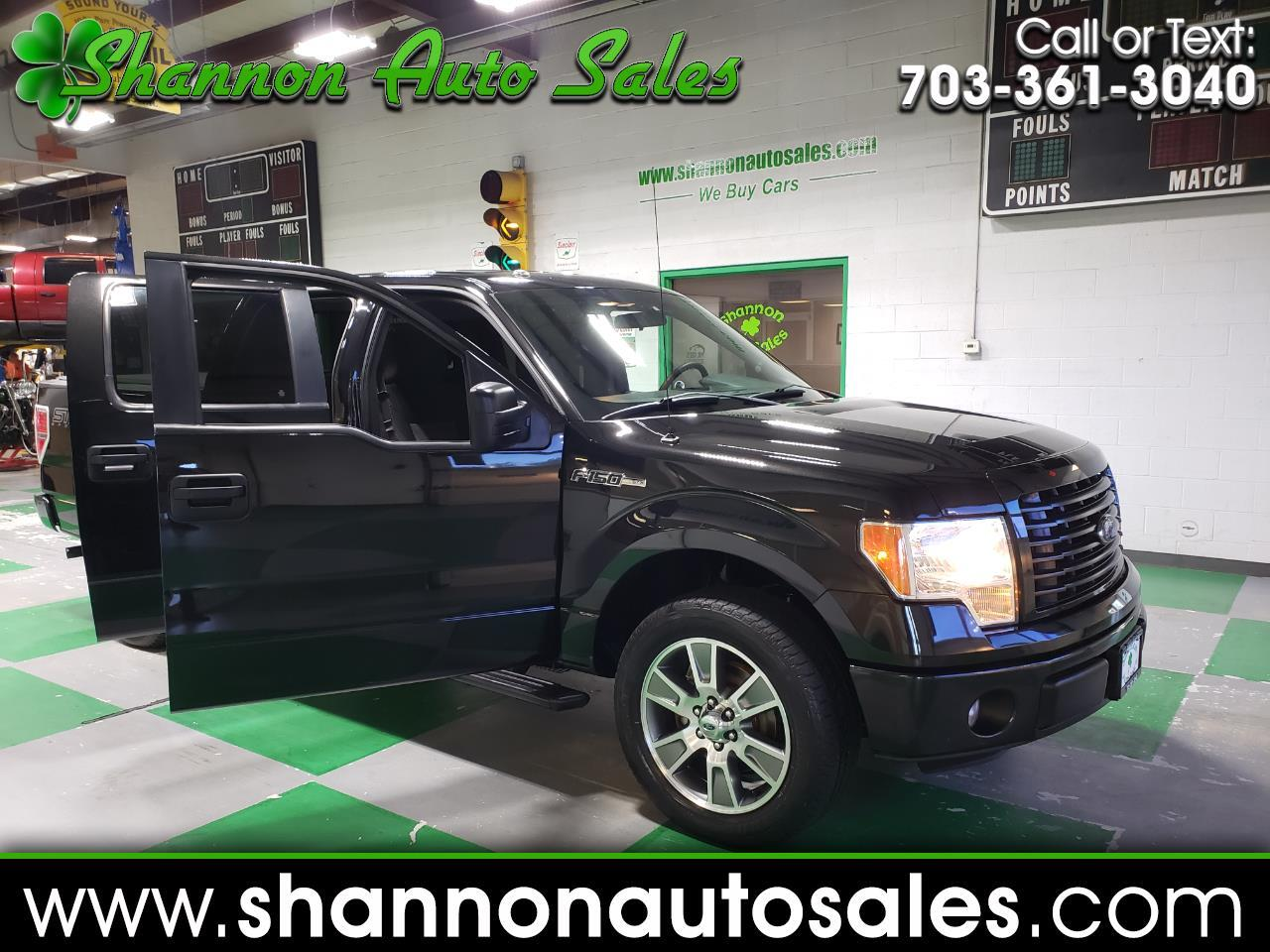 2014 Ford F-150 2wd SUPER CREW STX