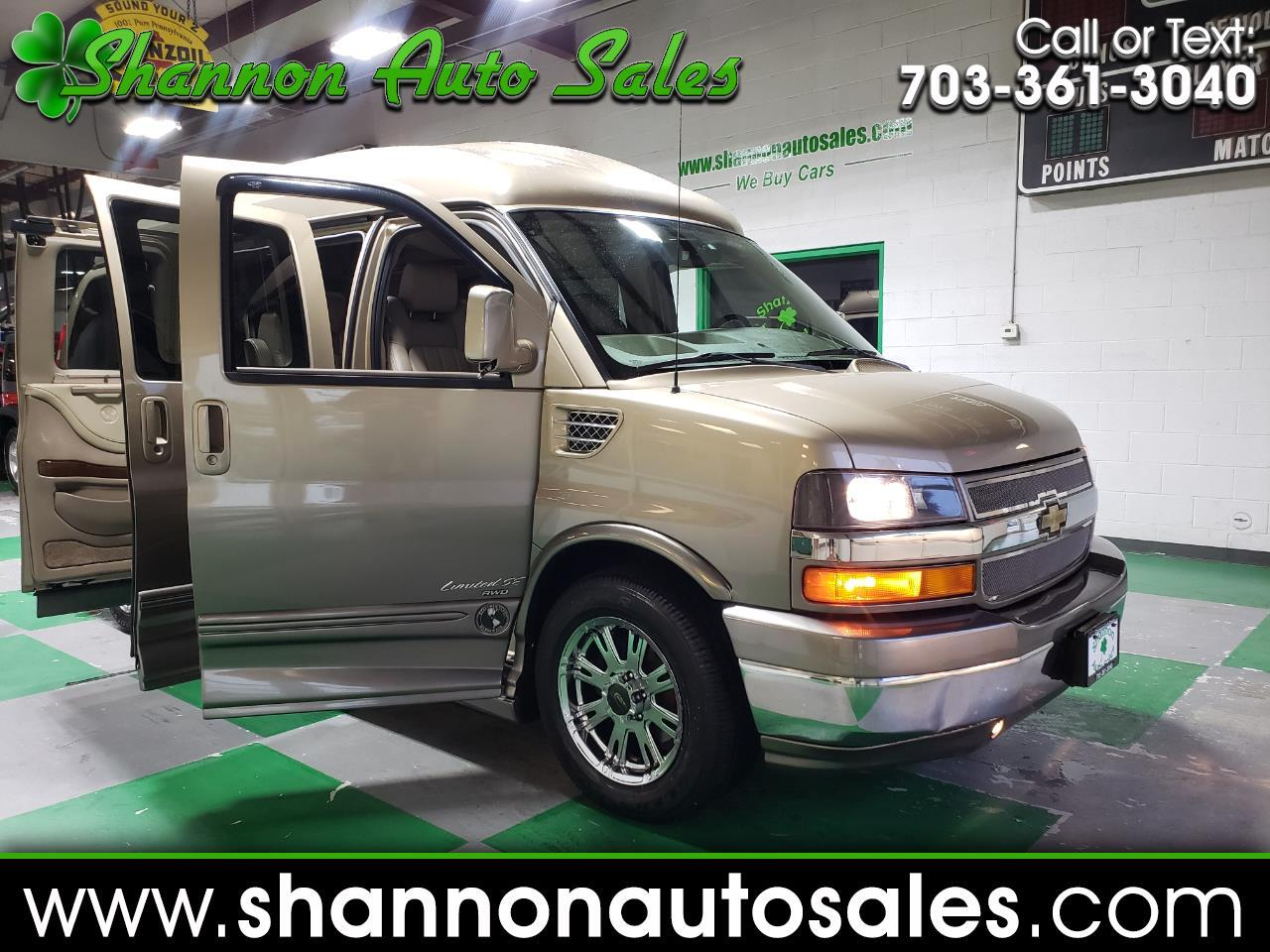 2012 Chevrolet Express 1500 AWD EXPLORER LIMITED SE EDITION CONVERSION VA