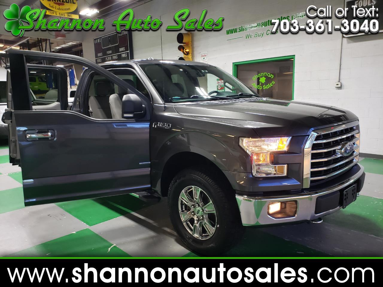 2015 Ford F-150 XLT SuperCab Short Bed 4WD
