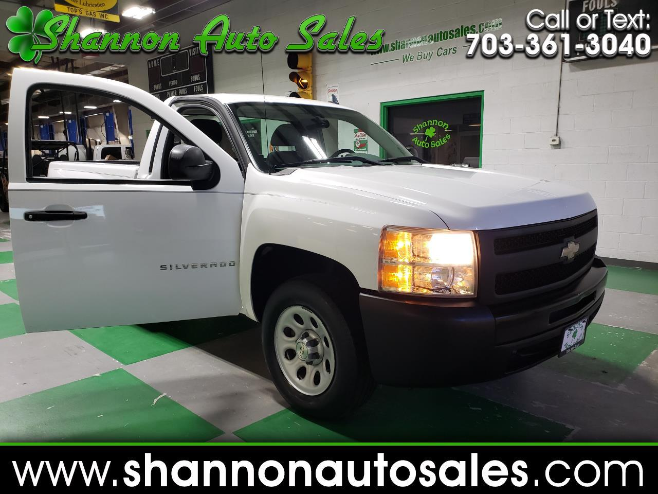 2009 Chevrolet Silverado 1500 Work Truck Short Bed 2WD