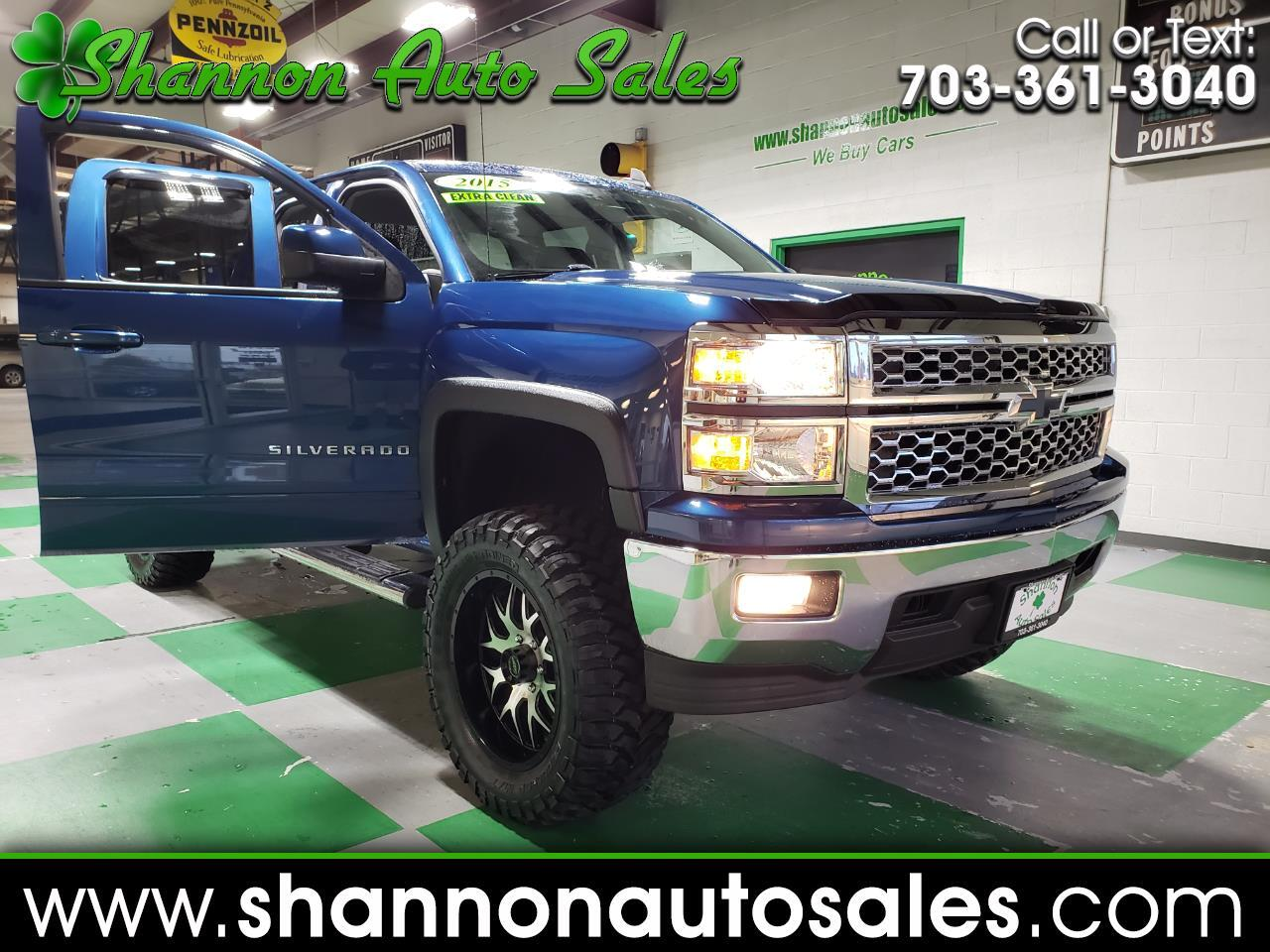 "2015 Chevrolet Silverado 1500 LT Double Cab 4WD ""ROUGH COUNTRY EDITION"""