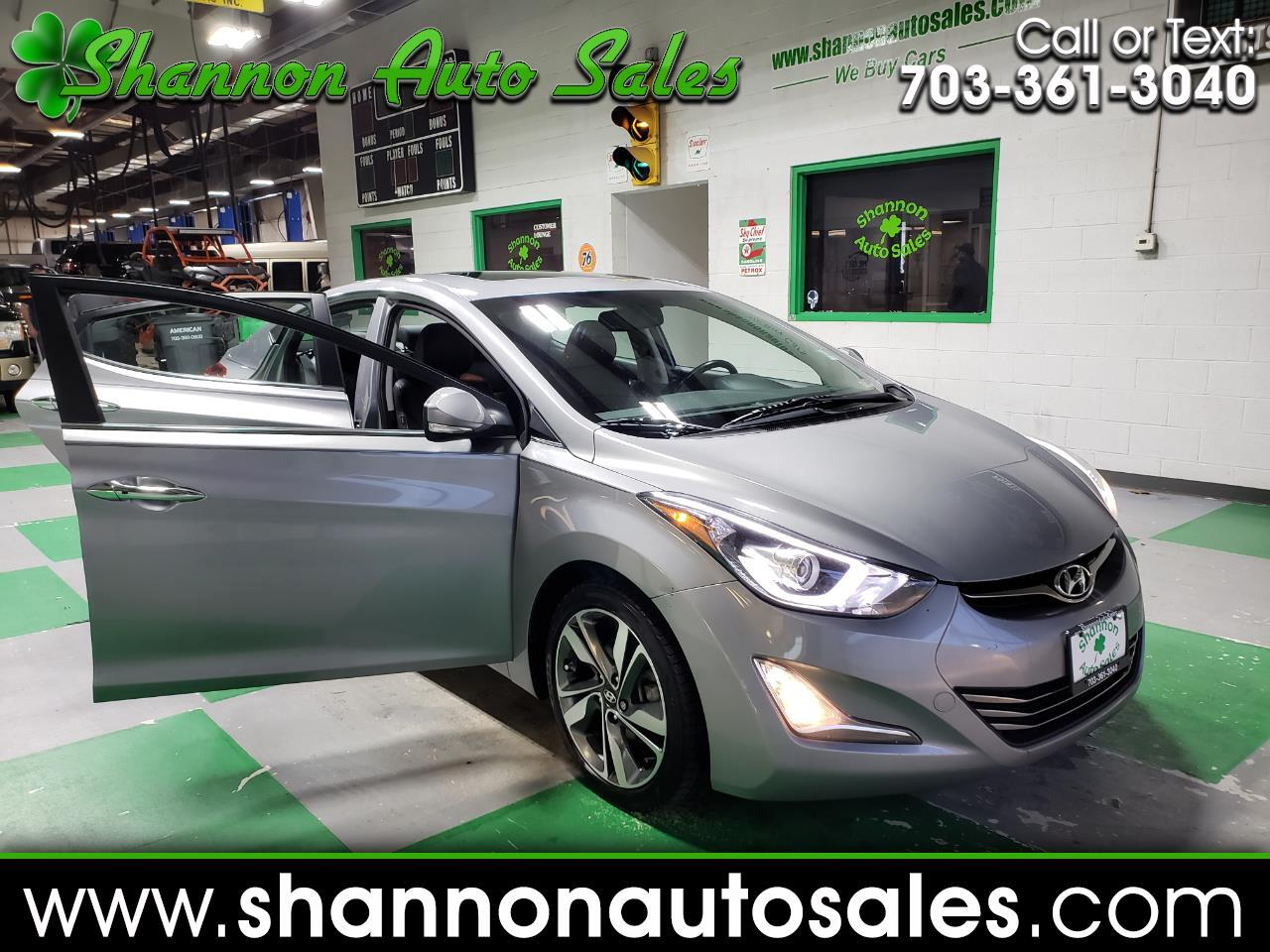 2015 Hyundai Elantra Limited 4-Door