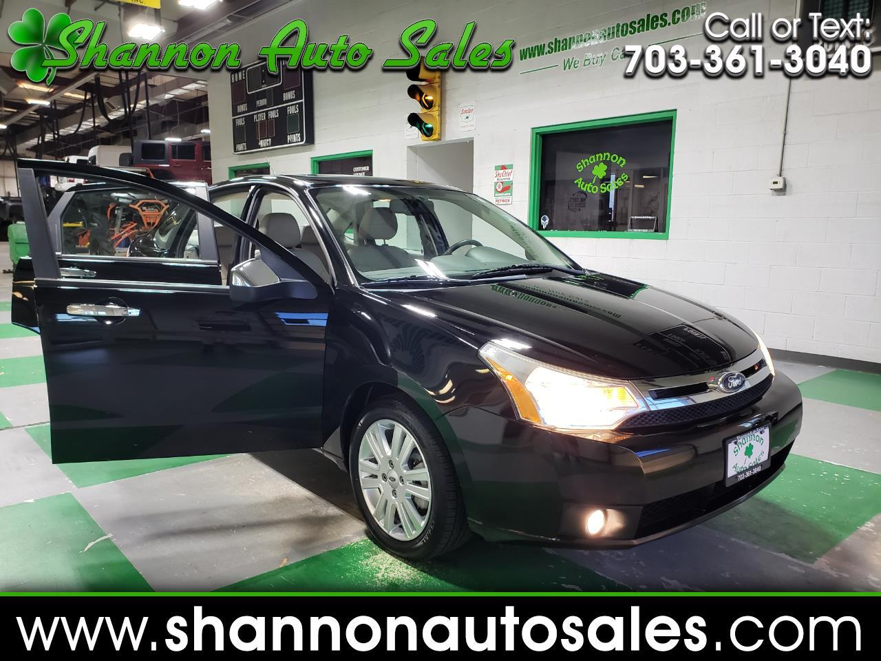 Ford Focus SEL Sedan 2011