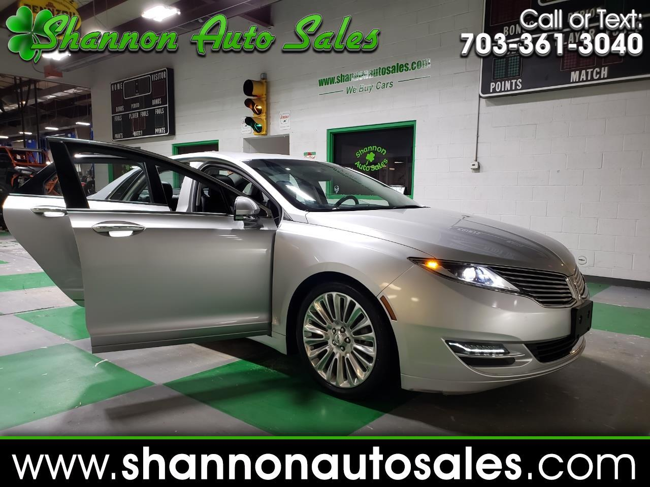 Lincoln MKZ AWD 2016
