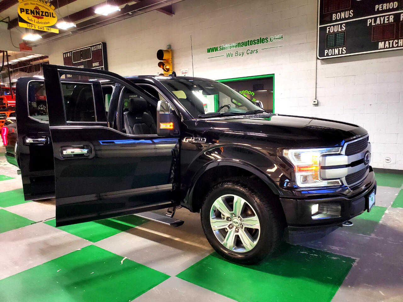 Ford F-150 Platinum SuperCrew 6.5-ft. Bed 4WD 2019