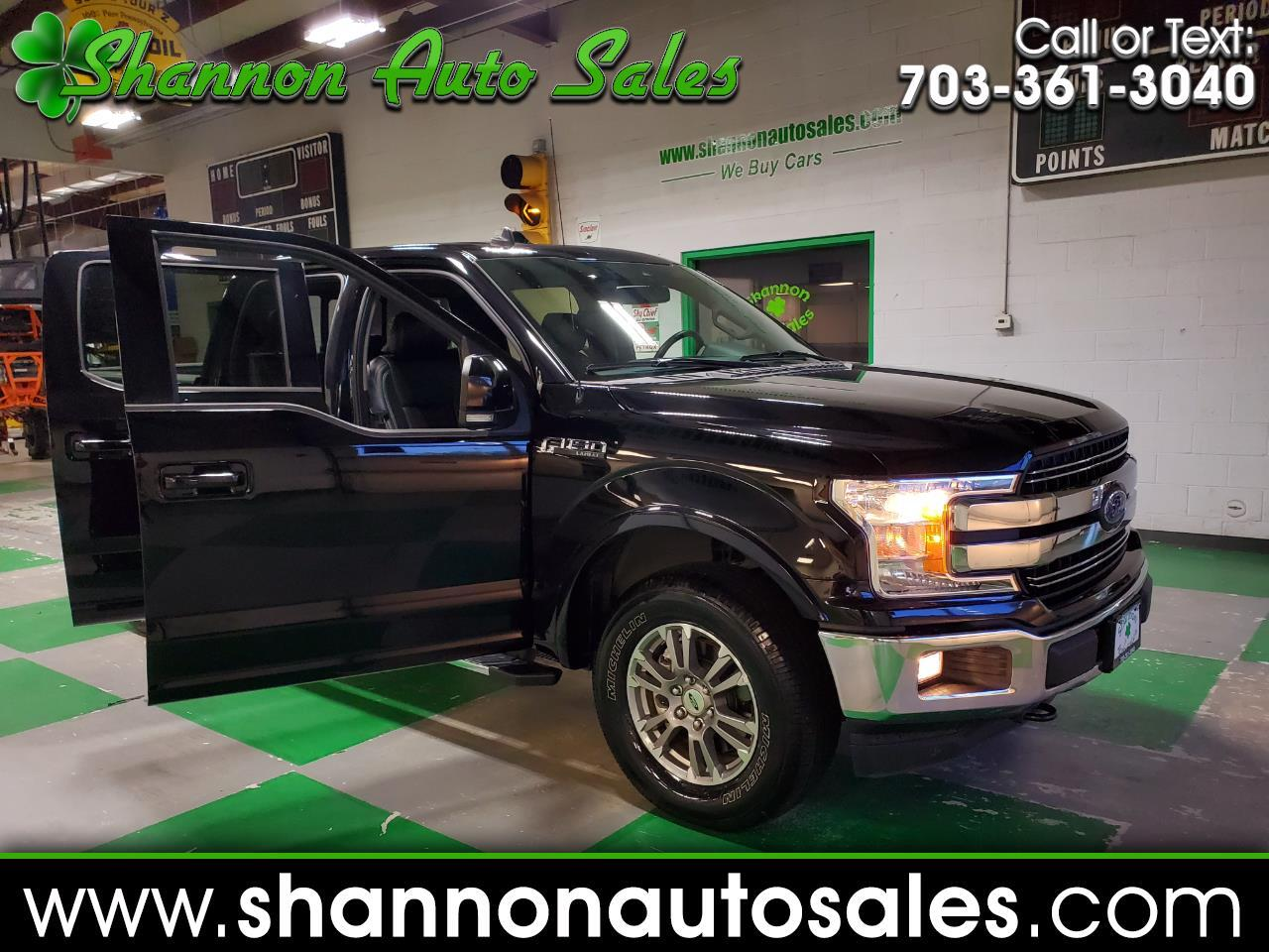 Ford F-150 Lariat SuperCrew 6.5-ft. Bed 4WD 2019
