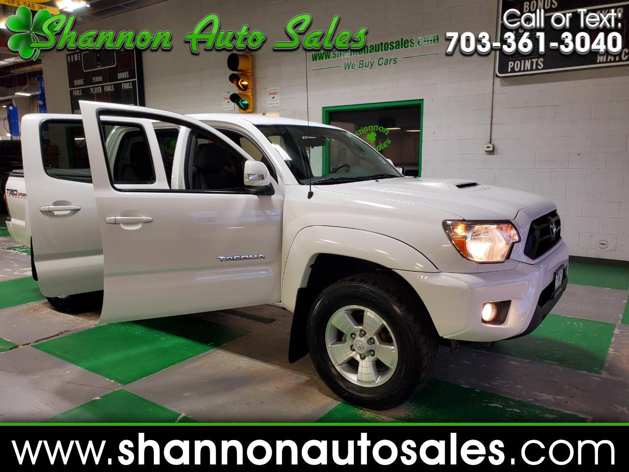 Toyota Tacoma 4WD Double Cab V6 AT TRD Sport (Natl) 2015