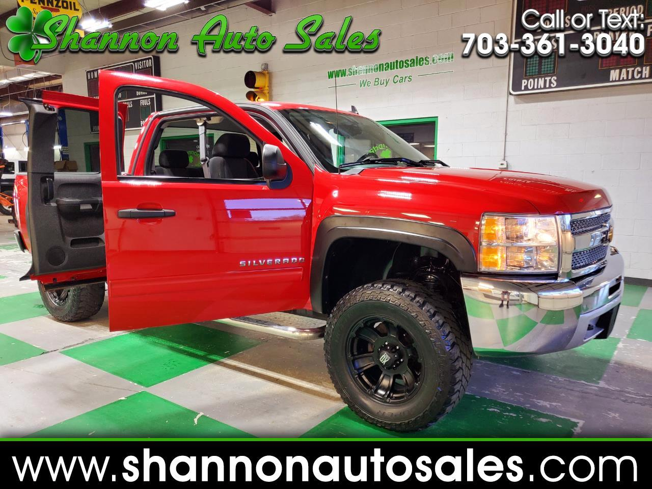 Chevrolet Silverado 1500 LT Ext. Cab Short Bed 4WD 2013