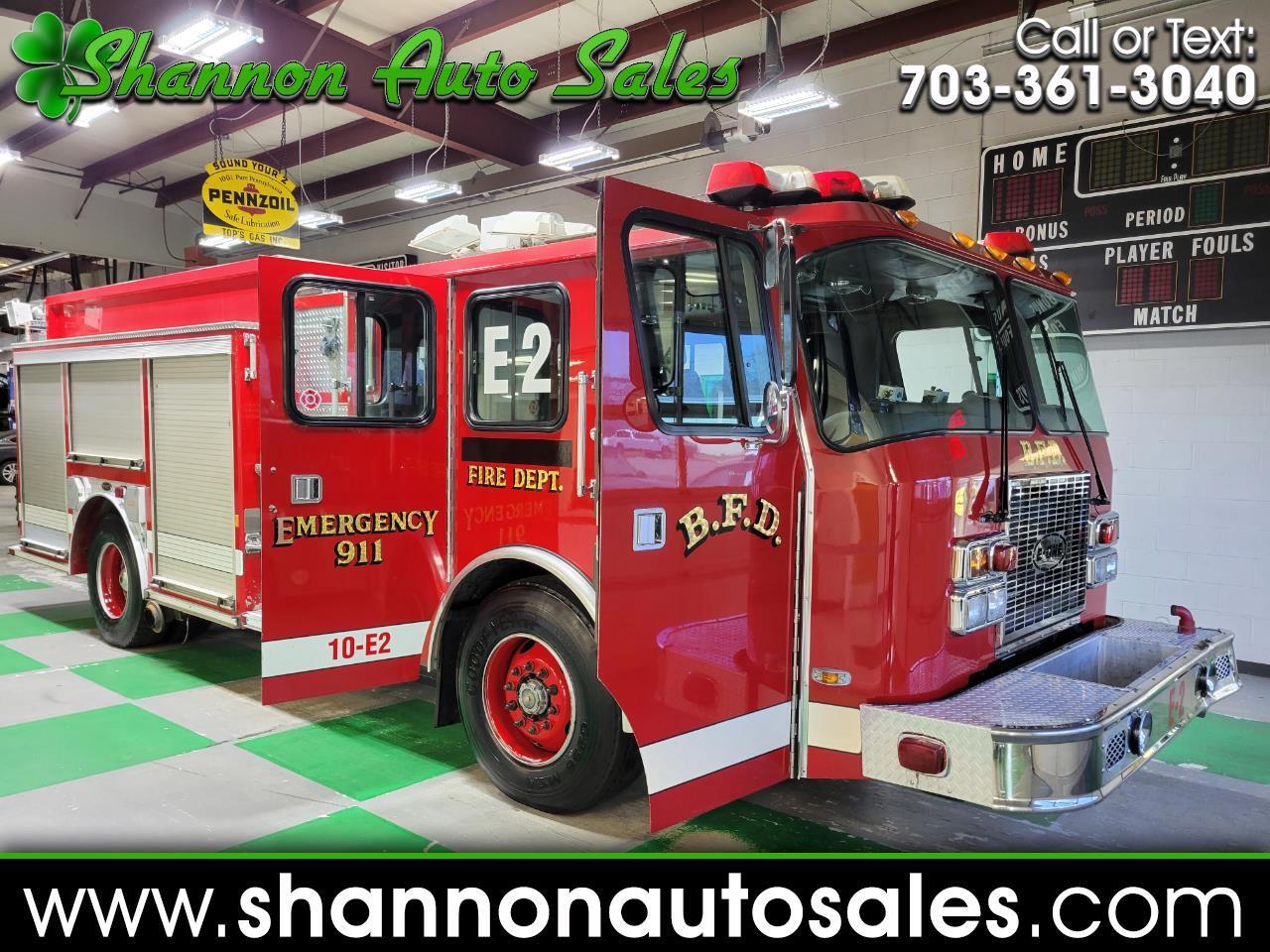 Emergency One Fire Truck  1998
