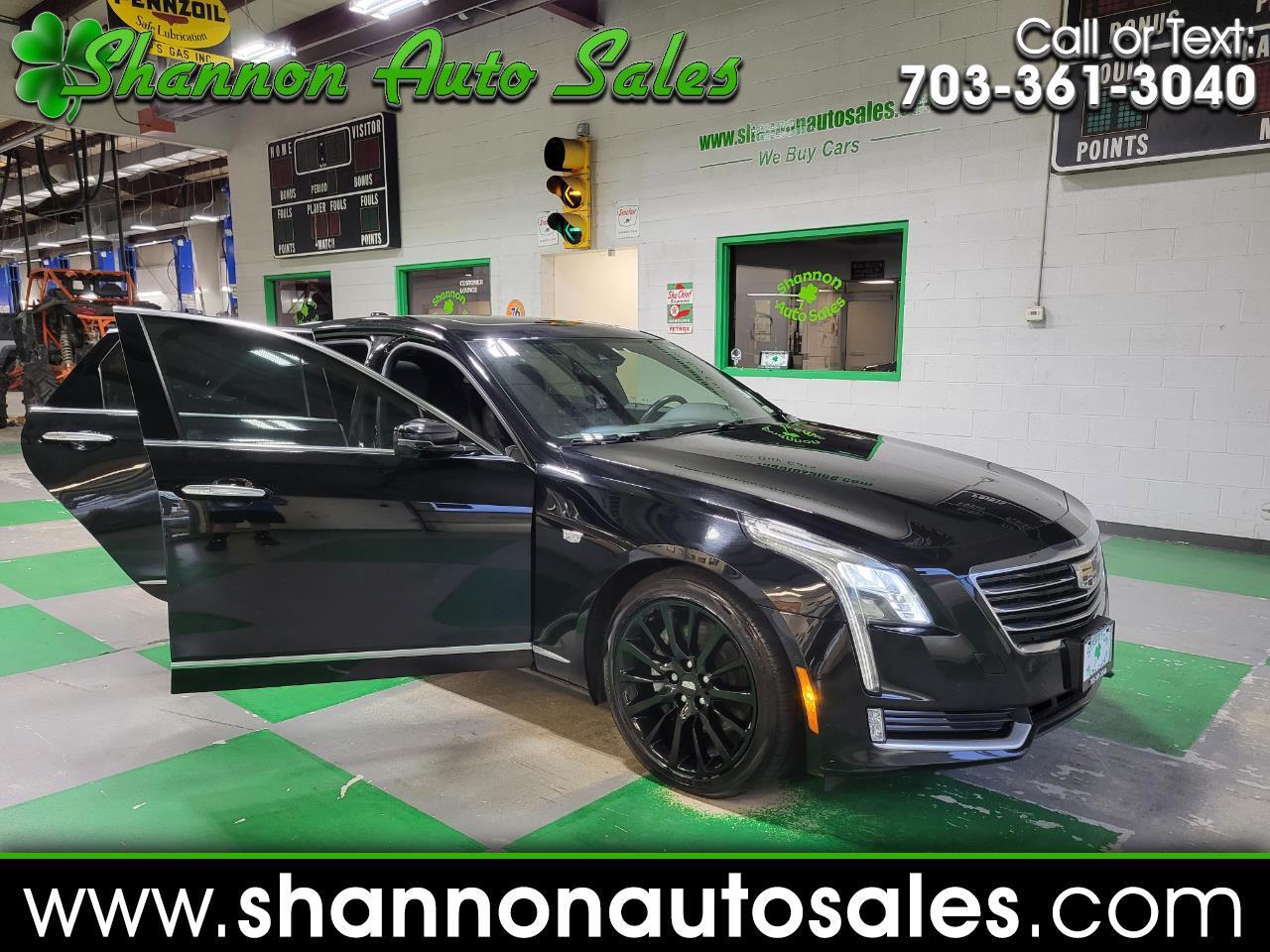 Cadillac CT6 4dr Sdn 3.6L Luxury AWD 2017