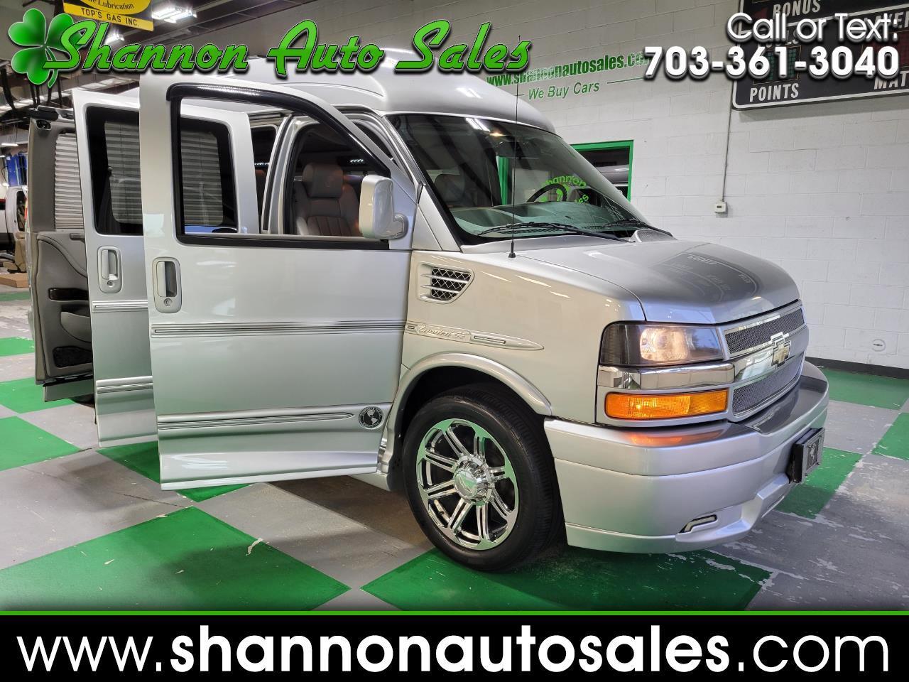 """Chevrolet Express Cargo Van RWD 2500 155"""" Upfitter 2013"""