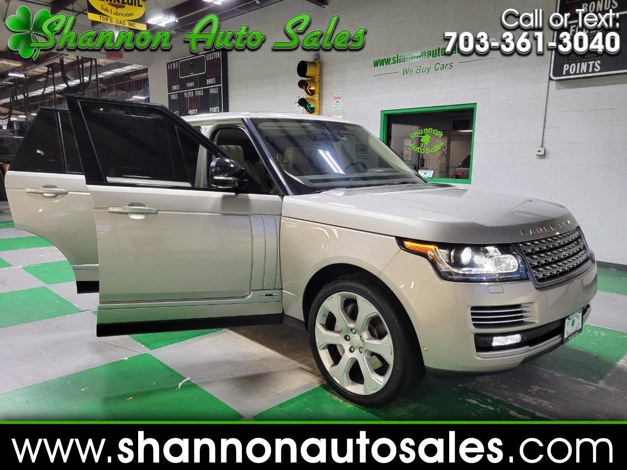 Land Rover Range Rover 4WD 4dr Autobiography LWB 2015