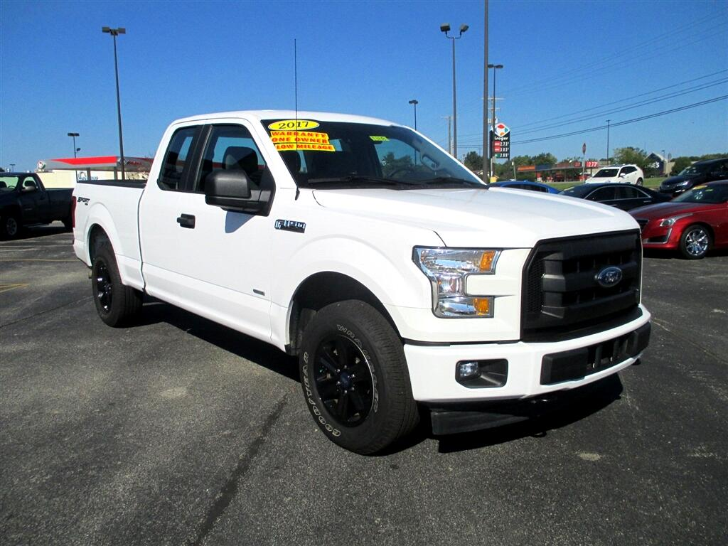 2017 Ford F-150 Lariat SuperCab 8-ft. 4WD