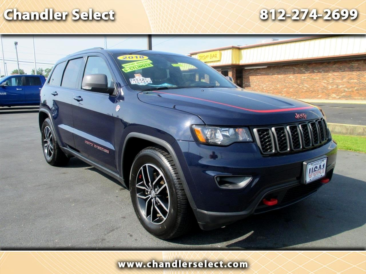 Jeep Grand Cherokee Trailhawk 4x4 *Ltd Avail* 2018