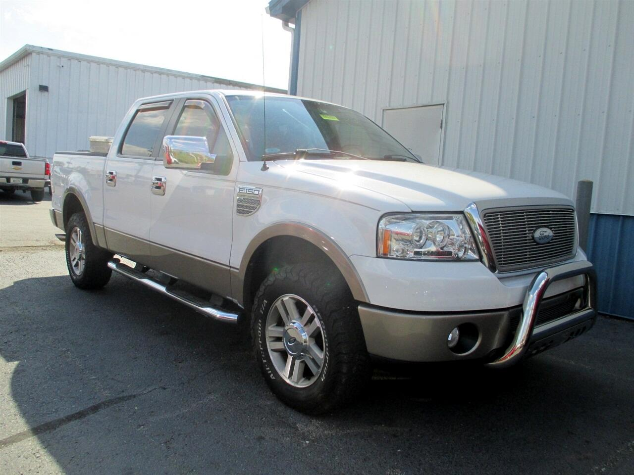 "Ford F-150 SuperCrew 139"" Lariat 4WD 2006"