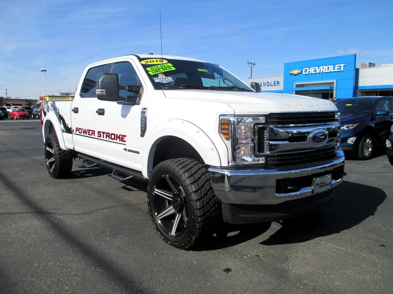 Ford Super Duty F-250 SRW King Ranch 4WD Crew Cab 8' Box 2018