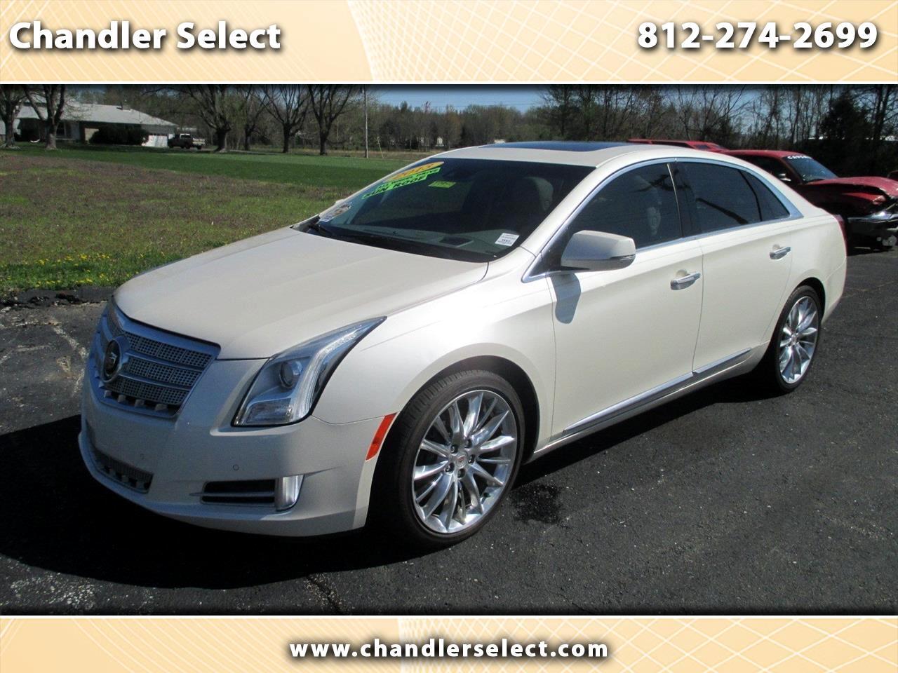 Cadillac XTS 4dr Sdn Platinum AWD 2013
