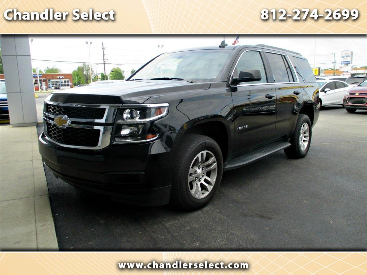 Chevrolet Tahoe 4WD 4dr LS 2017