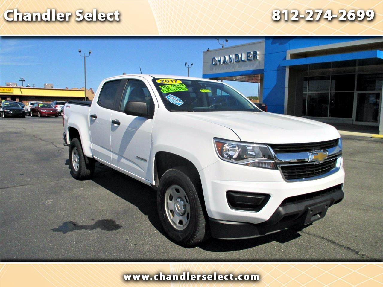 "Chevrolet Colorado 4WD Crew Cab 128.3"" WT 2017"
