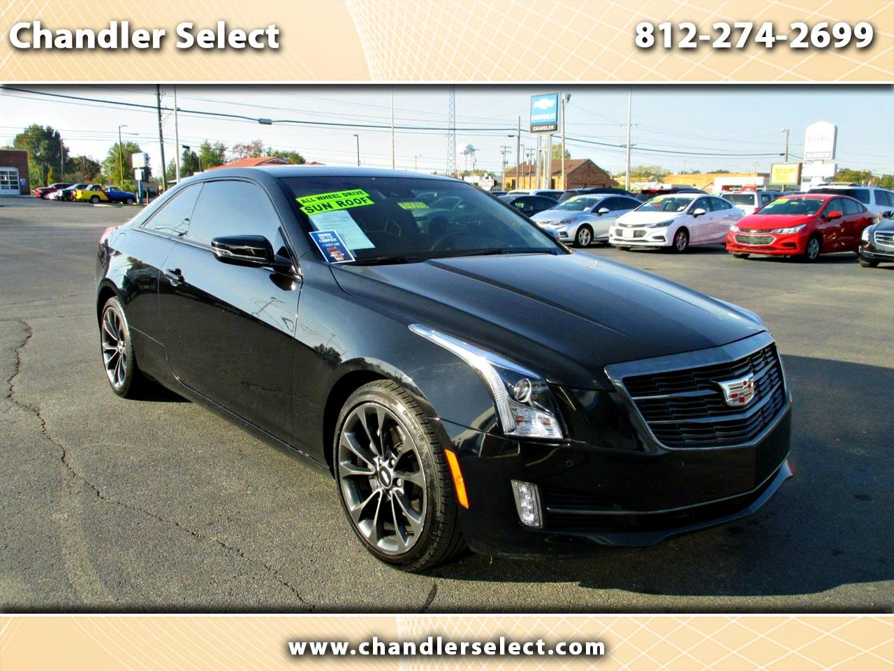 Cadillac ATS Coupe 2dr Cpe 2.0L Luxury AWD 2017